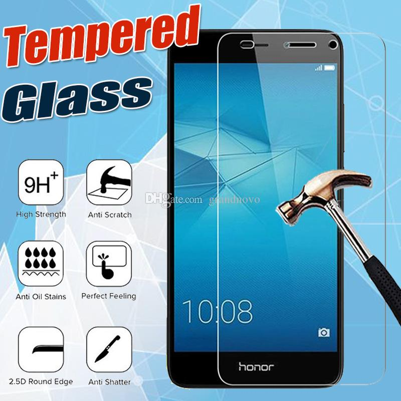9H Premium Clear Tempered Glass Screen Protector Film Guard For Huawei Honor 20i Pro Lite Note 10 V20 Play 8A 8C 8S 8X Y Max Shockproof