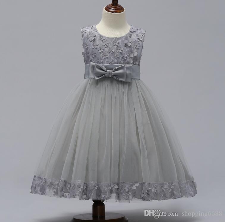 Найти аналогичные 5 замороженные платье юбка девушки партия рукавов пачка дети платье детские пром платье с блестками и большой цветок baby girl кружевное платье