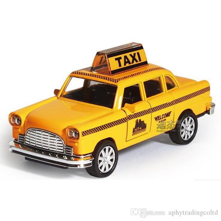 1:32 Ford Taxi Alloy Model for Kids Toys Diecast Car Hot Wheels Christmas Gifts