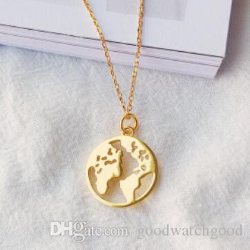 S925 Sterling Silber Halskette für Frauen Schmuck 14K Gold Farbe Halskette Erde Halskette heiße Art und Weise