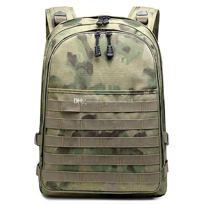 Bolsa de alpinismo de camuflaje para exteriores, mochila de pollo, bolsa impermeable para computadora de estudiante