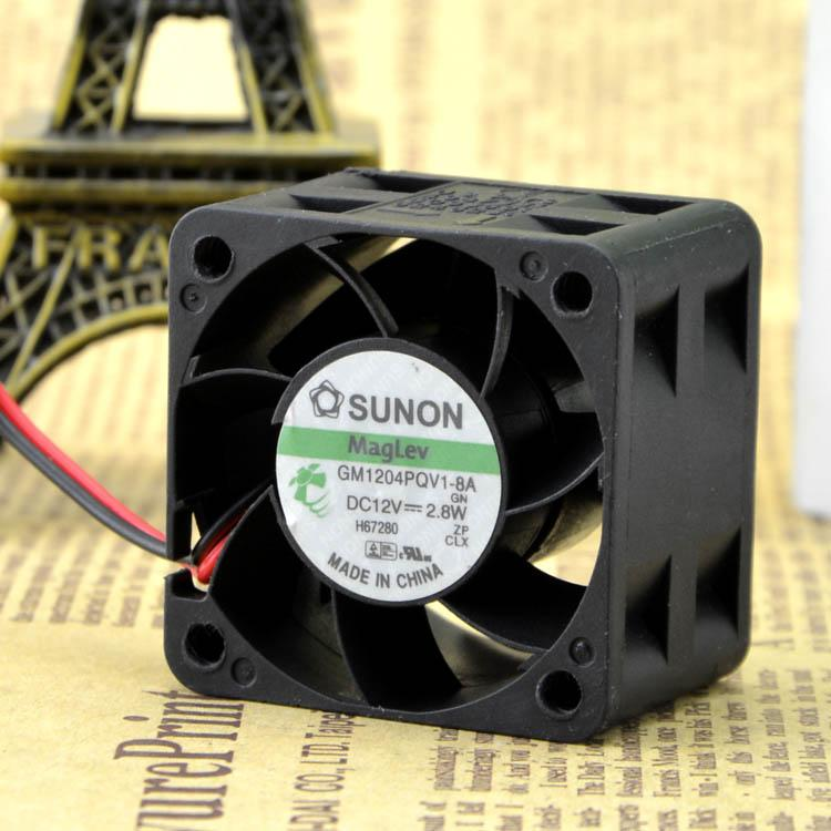 Per la nuova ventola del server ad alta velocità SUNON 4028 GM1204PQV1-8A 12V 2,8W 4 cm