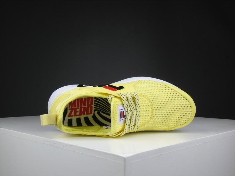 Scarpe Runner Moda FILA New Lightweight Uomo Donna Giallo Blu Scarpe Da Corsa La Primavera Estate Sport Scarpe Outdoor Economici Scarpe Da Ginnastica
