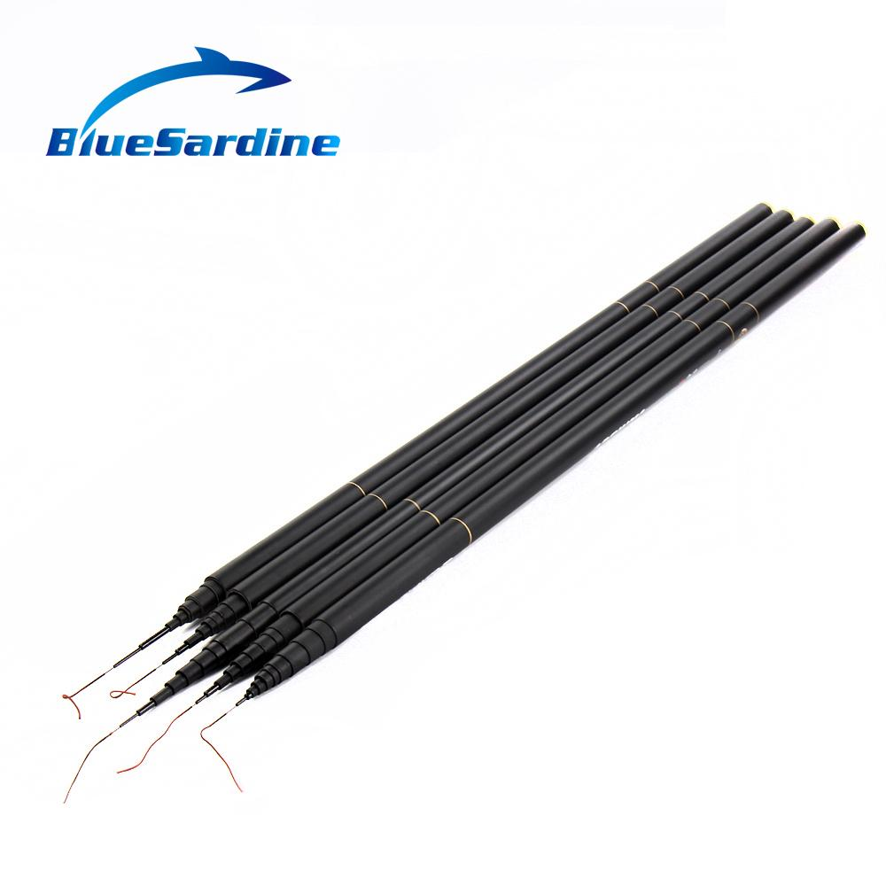 Acheter BlueSardine New Carp Fishing Pole Stream Canne À
