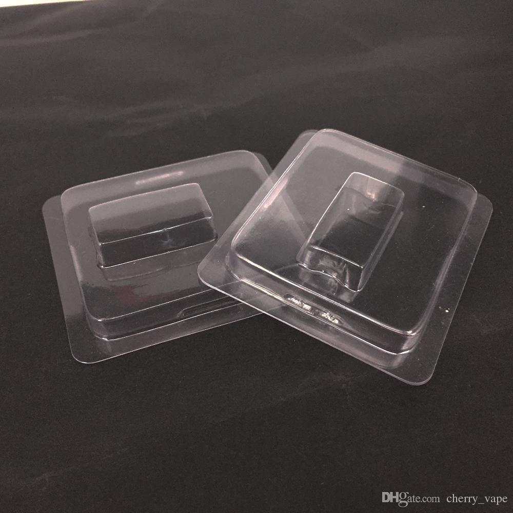 Cubierta de plástico transparente apta para JUUL COCO Pod Vape Pen Cigarrillos electrónicos Accesorio Para el kit de inicio de coco Vainas de vapor