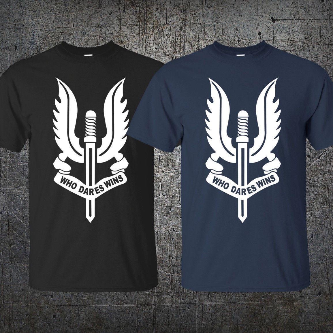 SAS t shirt double imprimé militaire special air service