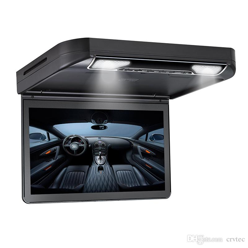 13.3 inch Roof mount Car DVD Player 1080P HDMI USB SD FM IR Game Flip Down