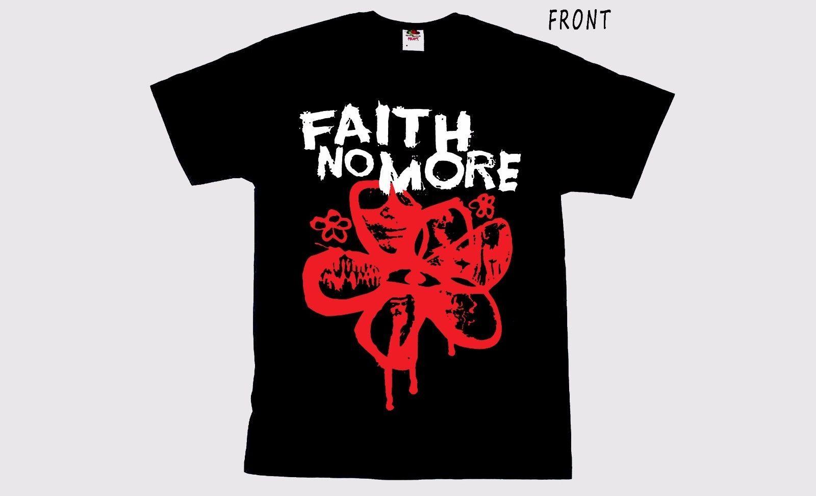 Faith No More - American Rock Band, T-Shirt - Taglie: S To 3xl Printed T Shirt T-shirt da uomo manica corta O-Collo Summer Stree Twear