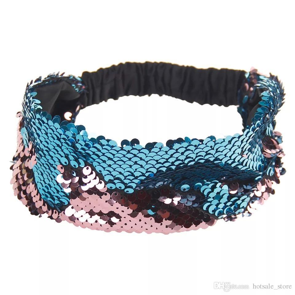 Mermaid Turquoise Girls Bandana Headwear,Fashion//Sport Accessories