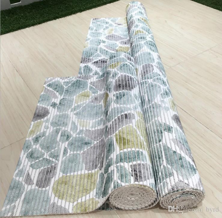 stuoie wc cuscino PVC bagno salone pavimentazione antisdrucciolevole pad corridoio tappeto ispessimento 65 * 150cm Y002