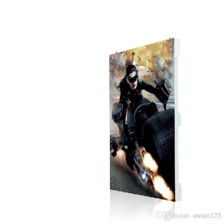 500mmx500mm Cabinet P3.91 / P4.81 Indoor HD Miet-LED-Anzeige-Bildschirm / Leinwand
