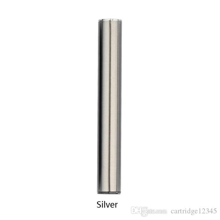 New products oil cartridge 345mah battery stainless steel vaporizer battery suitable for oil cartridge vape pen