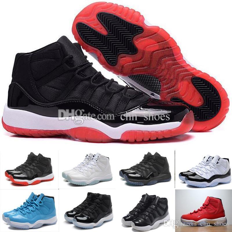 11 Gym Red Chicago Concord Space Jam 45 leyenda azul alto 72-10 Mens Baloncesto Zapatos 11s Athletic Womens Sport zapatillas tamaño eur36-47