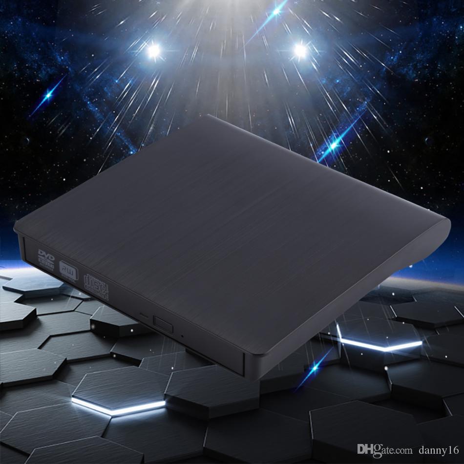 USB 3.0 External DVD/CD Drive Burner Slim Portable Driver For Notebook MacBook Laptop Desktop External Optical Drives