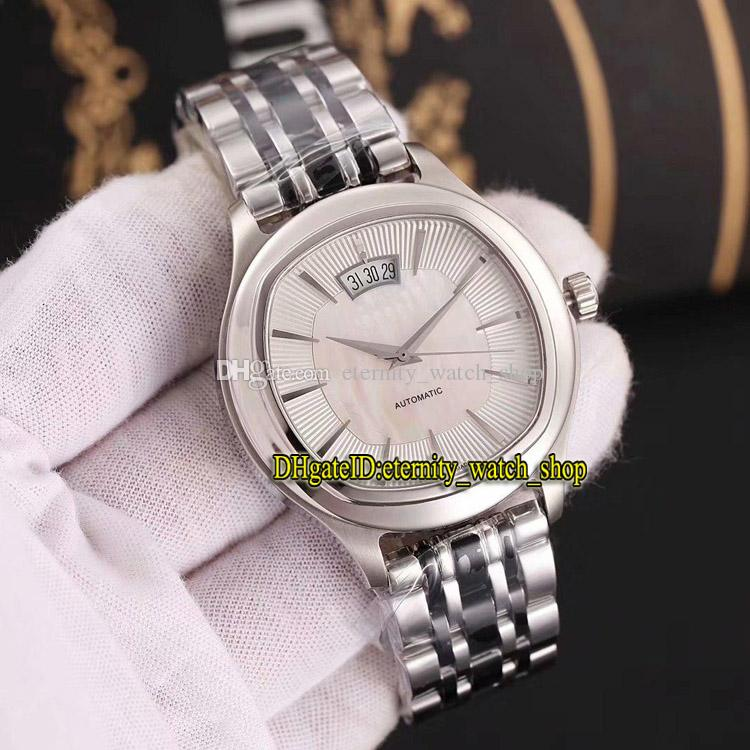 Luxury New BLACK -TIE G0A32016 Silvery Date Case 2824 Automatic Double-sided Sapphire mirror Mens Watch 316L Steel Strap Gents Watches 01
