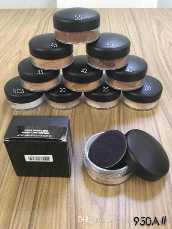1pcs Free shipping NEW MAKEUP NEW MINERALIZE POWDER ENGLISH NAME AND NUMBER 8g