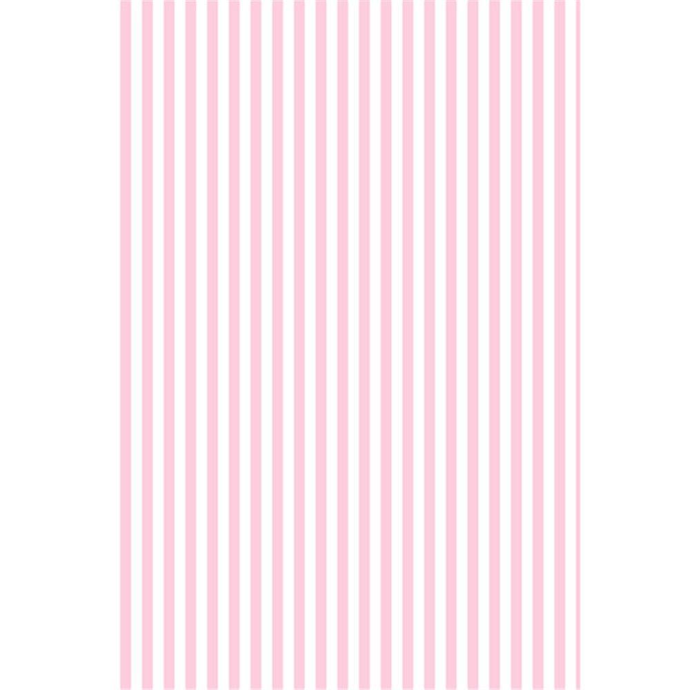 Sfondo bianco strisce rosa per fotografia stampata Neonato neonato Photo Shoot Wallpaper puntelli bambini compleanno festa Booth sfondo