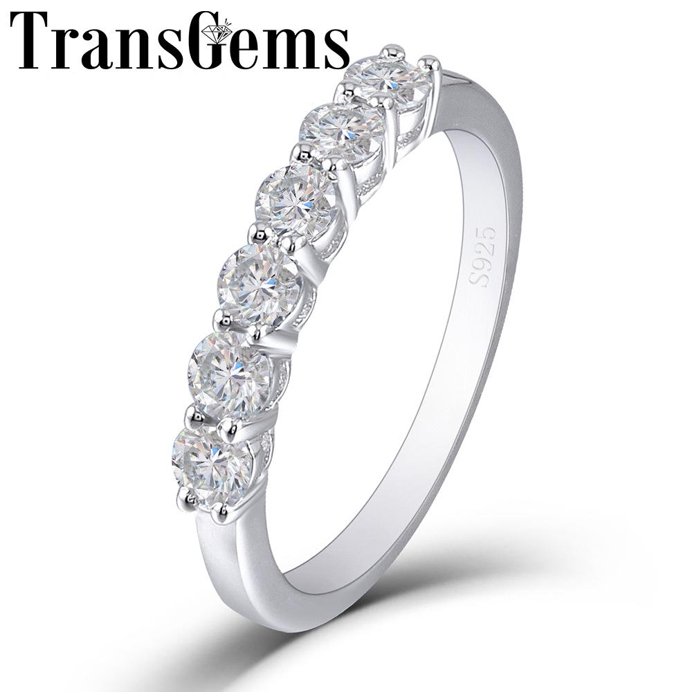 Wedding Ring Wedding Band 4mm Sterling Silver Ring Platinum Plated