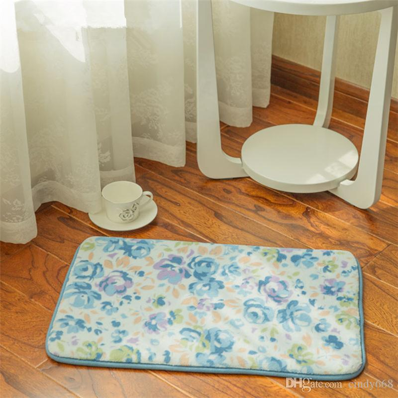 Утолщаются цветник коврики в гостиной пол ковер кухня ковер туалет коврик ванная комната Alfomb противоскользящая ванная комната ковер для туалет спальня коврики