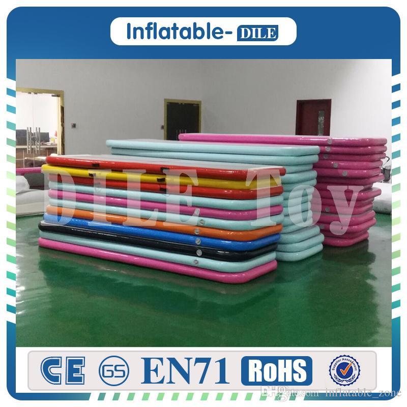 Freies Verschiffen 3x1x0, 2 MT Aufblasbare Air Track Bodenmatte Gymnastik Taumeln Matte mit Freies Luftpumpe Für Kind