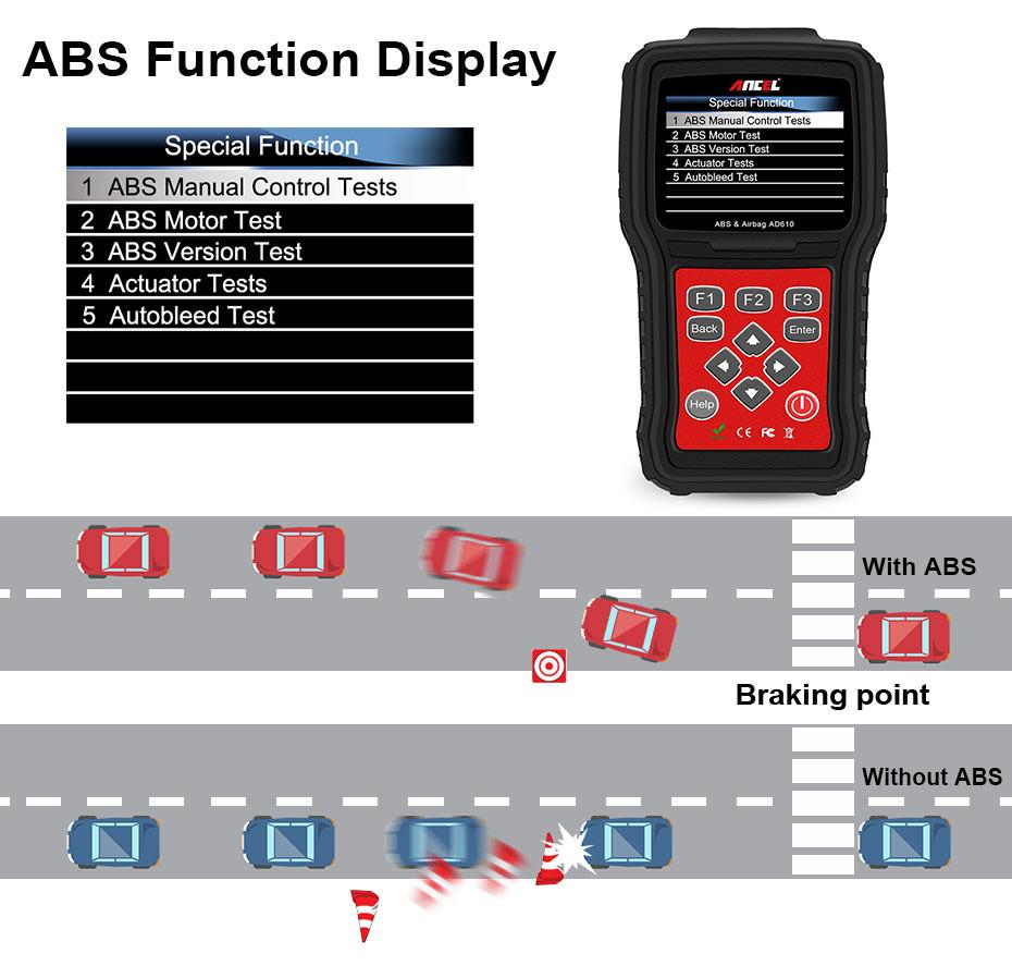 OBD2 OBD Automotive Scanner Diagnostic Tool Ancel AD610_03