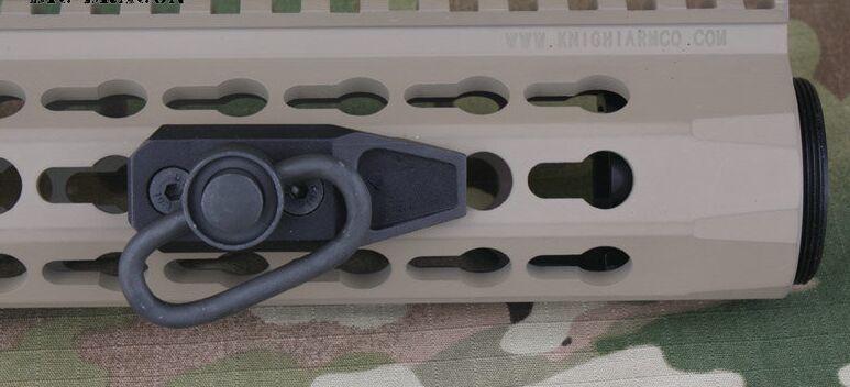 KeyMod Modülü Kayış Ray Kapsam Dağı Tüfek Airsoft Adaptörü Handguard keymod H5