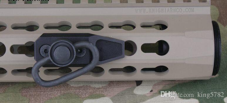 KeyMod 모듈 스트랩 레일 스코프 마운트 라이플 Airsoft 어댑터 핸드 가드 키모 드 H5