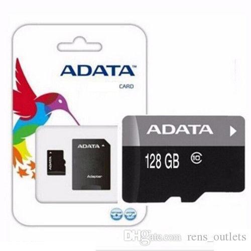 2020 뜨거운 판매 ADATA 일반 클래스 (10) TF 플래시 C10 메모리 카드 16기가바이트 32기가바이트 64기가바이트를 들어 안드로이드 휴대 전화 PC SD 어댑터 소매 포장