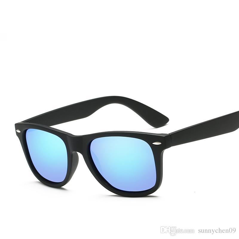 Nueva llegada Diseñador de marca popular Gafas de sol para hombres y mujeres Marco de protección UV Gafas Retro Sport Vintage Gafas de sol