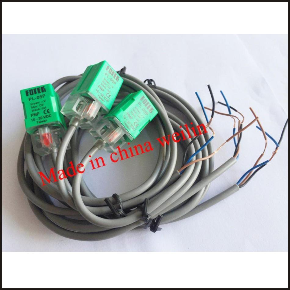 PL-05P Fotek Proximity Sensor Switch PNP PL-05P FOTEK Made In Taiwan
