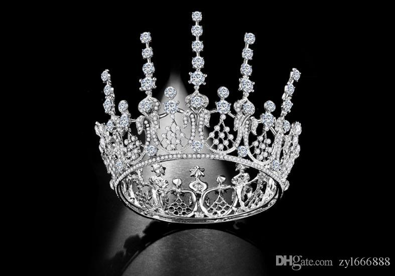Mariées européennes et américaines, cercle baroque, couronne, couronne, studio photo, chapellerie de mariage.