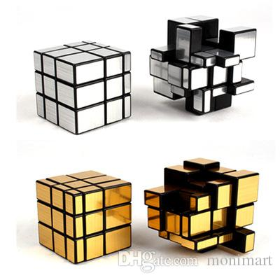 5 7cm Silver Gold Stickers Three Mirror S Magic Cube 3 Mirror Smooth Magic Cube Puzzle Educational Toy For Kids Kindergarten Learning Toys Children Education Toy From Monimart 2 23 Dhgate Com