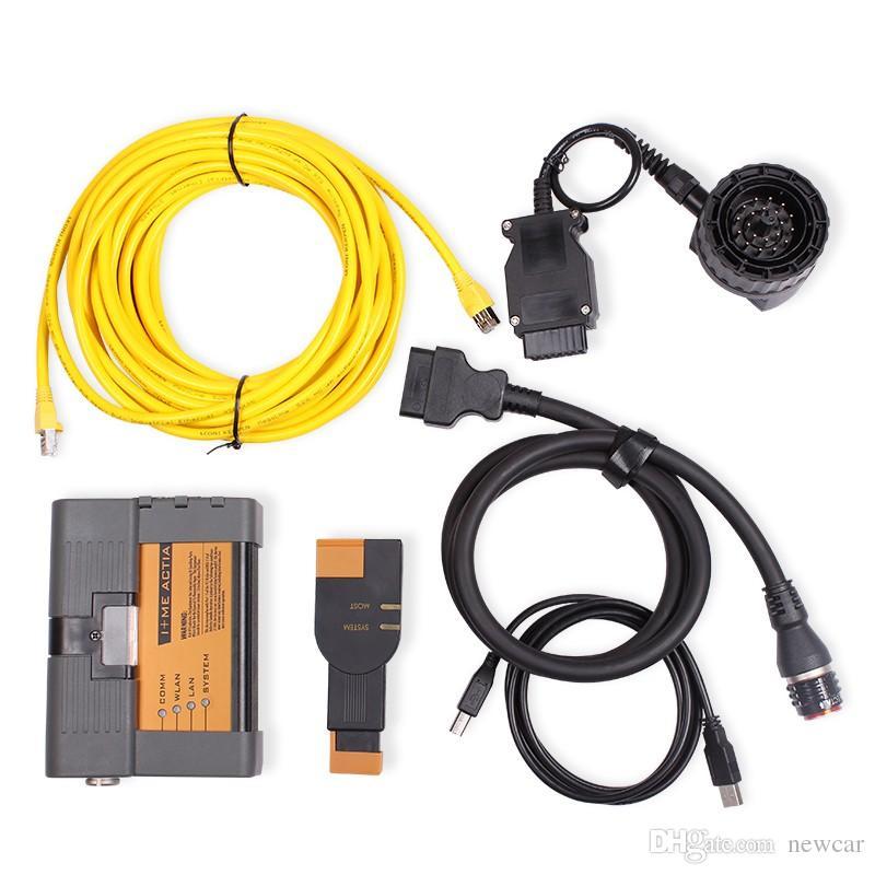 pour BMW ICOM A2 B C voiture outil de diagnostic no_Software ICOM pour bmw obd2 outil icom a2 2018 logiciel câble complet DHLfree expédition