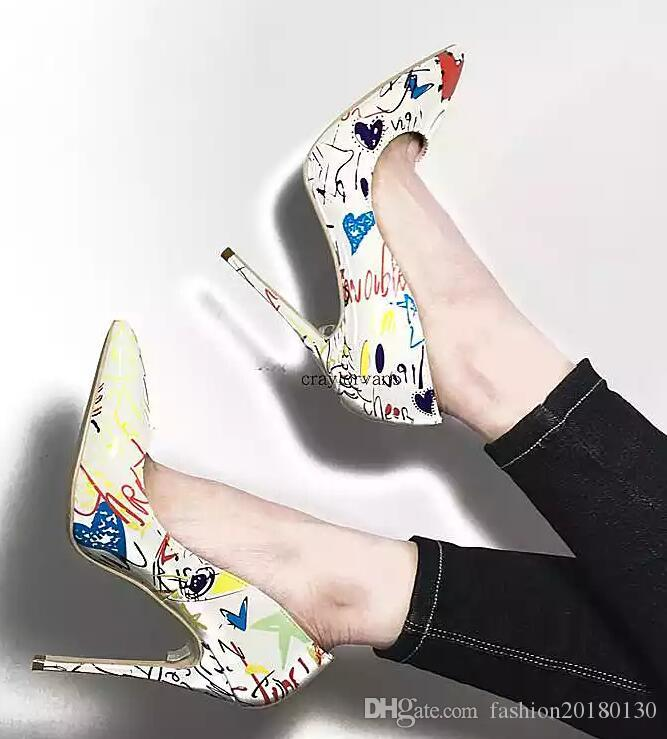 Spring And Autumn New Retro Princess Pointed high-heeled Shoes Women Shoes Shallow Mouth Fine With Sexy Elegance .