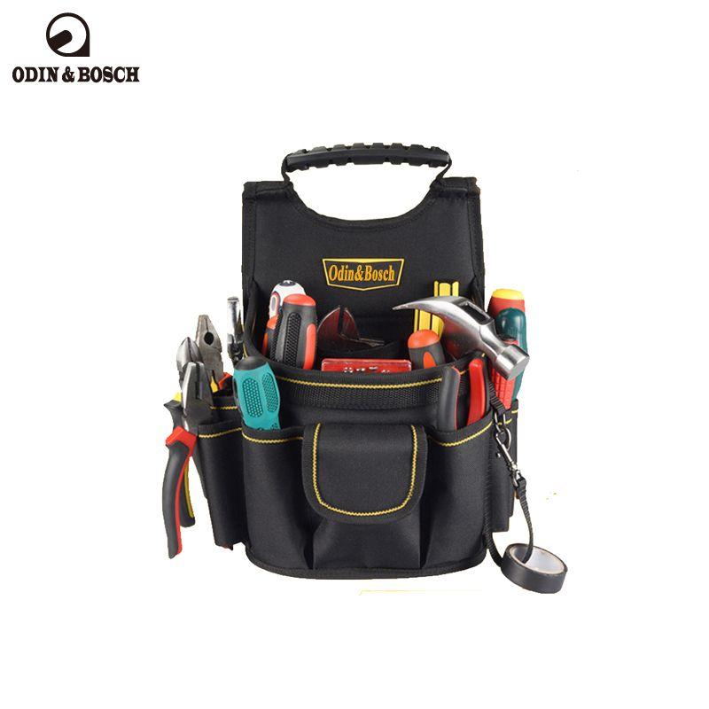 OdinBosch المحمولة حقيبة أداة الخصر لالكهربائي باني في الهواء الطلق التكتيكية الرياضة أداة الخصر الحقيبة