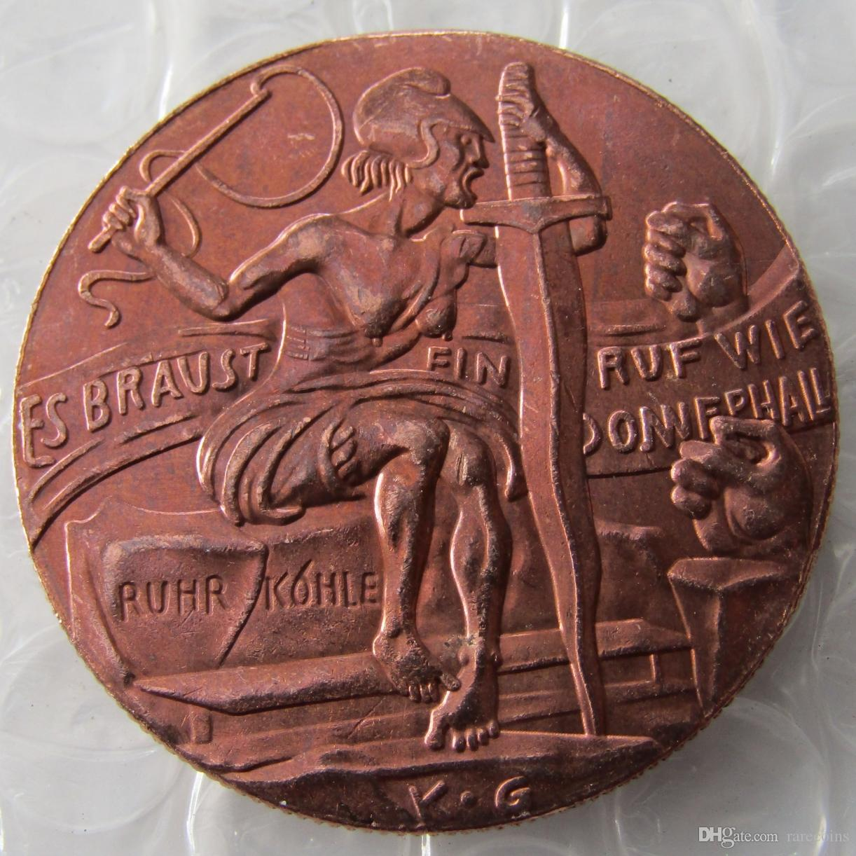 ALEMANIA 1923 The Robber's Court, 100% Copper Copy Coins