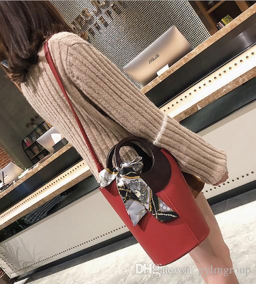 Saco de ombro Sacos Scraf Silk Handle Bandanas Bagagem Senhora Muffler Casamento Carteira Carteira Bolsa Bolsa Lady Art Fr Paris EUR Tote