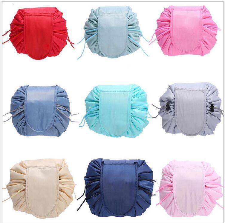 NEW Multi Organizers Drawstring cosmetic bag travel Makeup Drawstring storage bag beam magic Pouch Toiletry Kit Box Wash Bag(10pcs/lot)