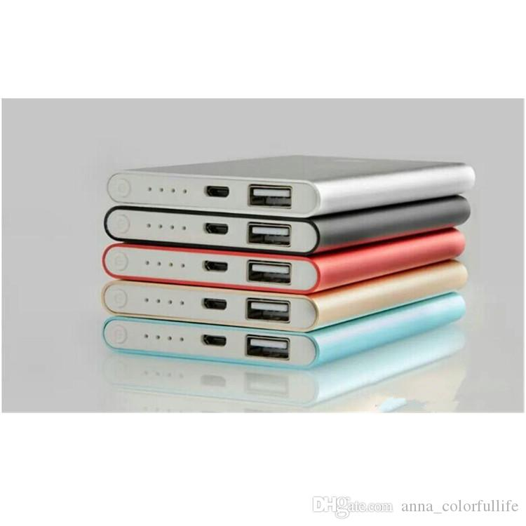 Hot saleUltra thin slim powerbank Ultrathin power bank for mobile phone Tablet PC External battery