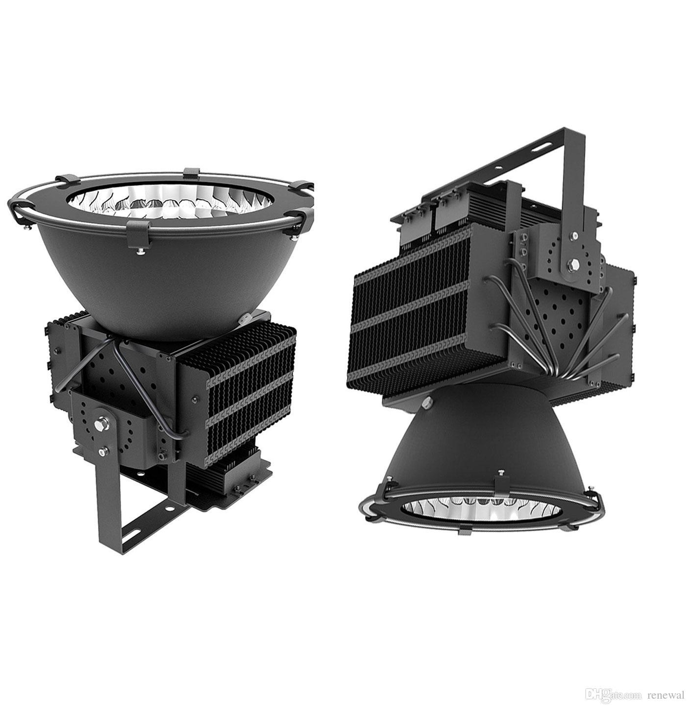 Башенный кран лампы 100-305 В 200 Вт 300 Вт 400 Вт 600 Вт 800 Вт 1000 Вт Светодиодные прожекторы Светодиодные башенные светильники Высокий залив Промышленные огни Cree чип прожектор