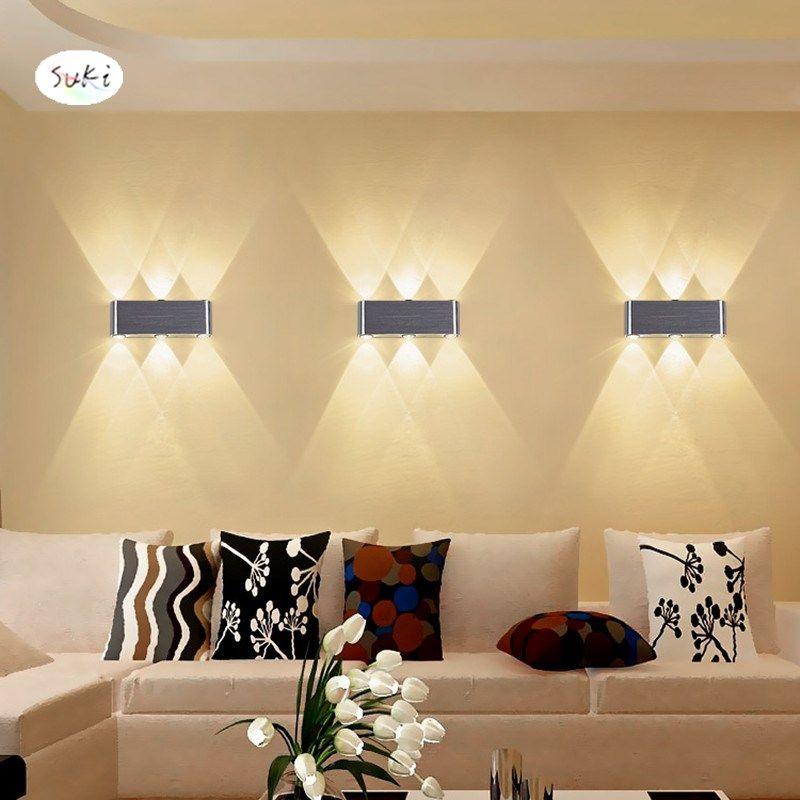 2019 Led Wall Lamp Modern Minimalist Living Room Bedroom Background  Decorative Lights Hotel KTV Engineering Light Creative Wall Lamp From  Goddard, ...