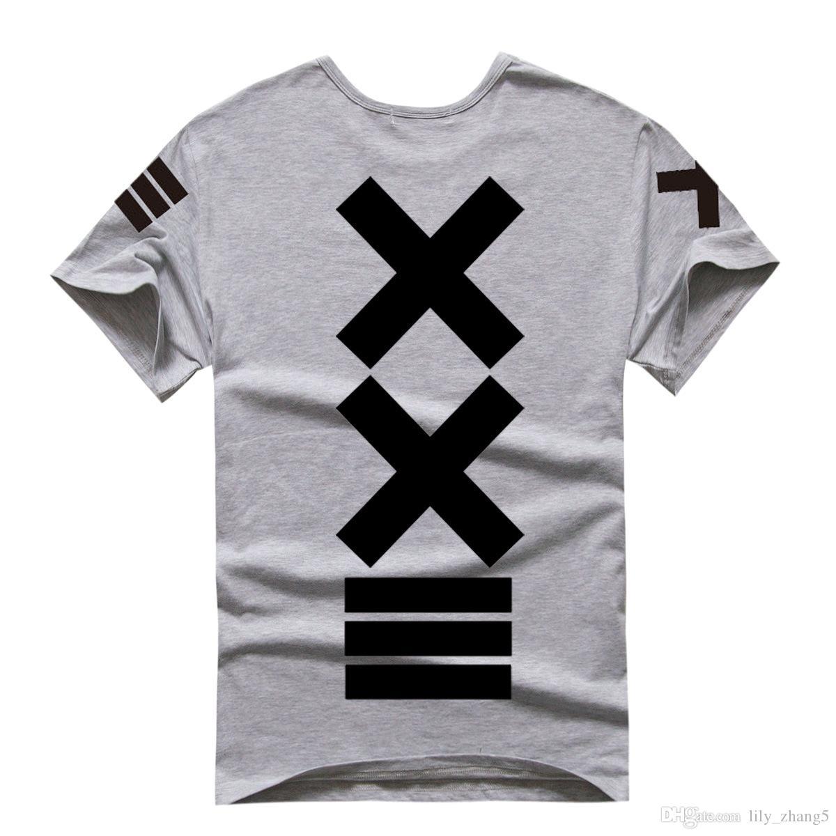 Shanghai Story New sale fashion PYREX VISION 23 tshirt XXIII printed T-Shirts HBA tshirt new tshirt fashion t shirt 100% cotton 5 color