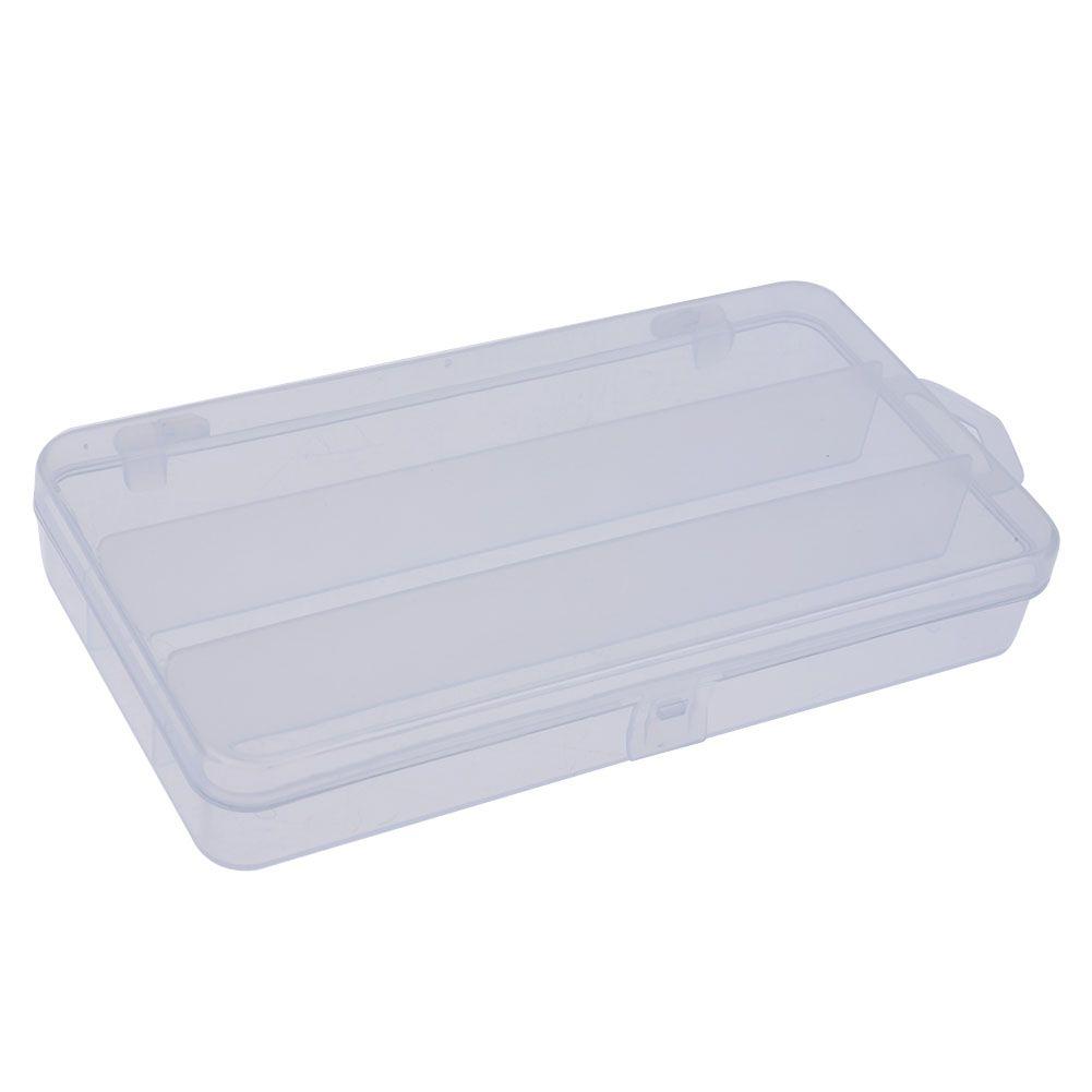 3 구획 어업 미끼 상자 단 하나 층 어선 걸이 저장 경우 투명한 플라스틱 옥외 Pesca 어업 선반