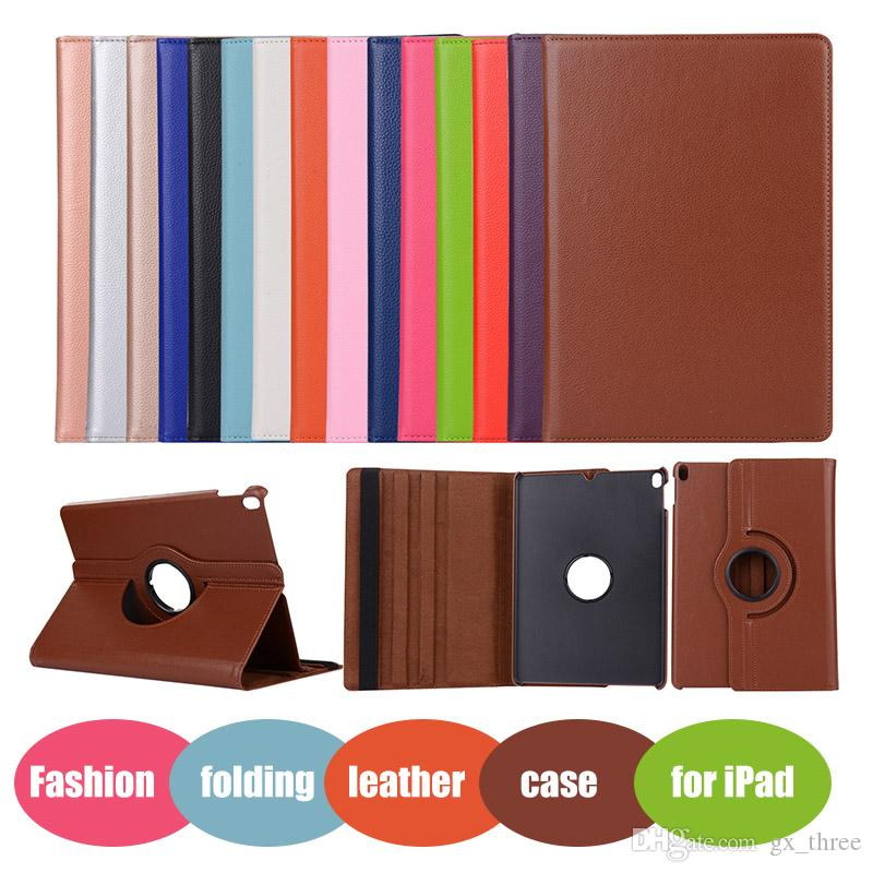 Magnetic 360 Rotation smart Stand PU Leather Flip Case Cover For ipad mini 4 air 2 pro 9.7' Samsung Tab T280 T350