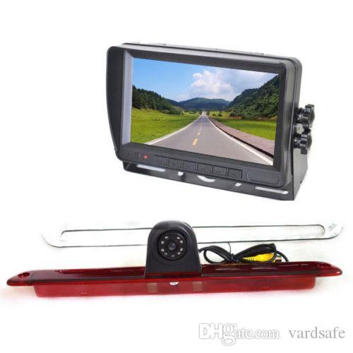 Vardsafe VS705NM | Car Brake Light Rear View Reverse Backup Camera Kit for Mercedes Sprinter