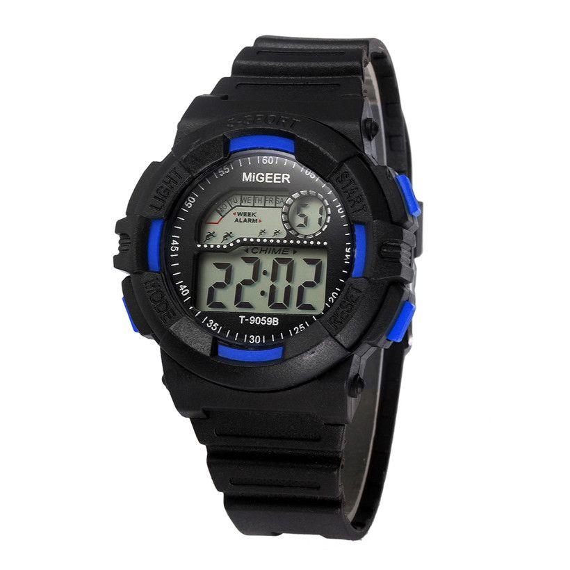 8124ccdd3d6 Compre 2017 Novo MIGEER Homens Relógio À Prova D  Água Data LED Digital  Esporte Quartz Analog Mens Militar Relógio De Pulso Relogio Masculino  Relógio   20 ...