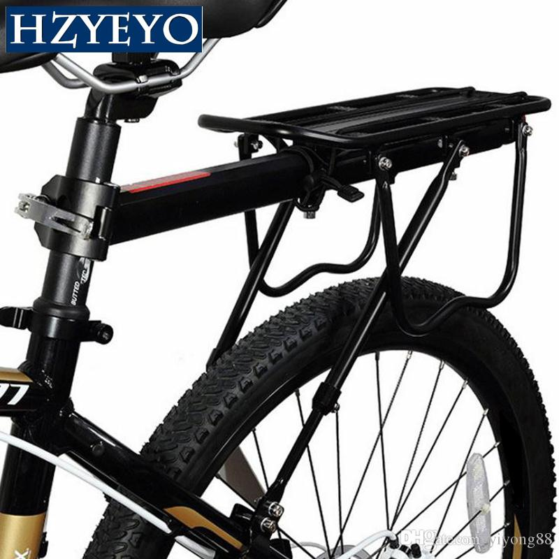 HZYEYO велосипедов багажником 25 кг Нагрузка на заднюю стойку дорожного MTB Полка Велоспорт подседельный сумка держатель для 15-20' велосипед, C-205B