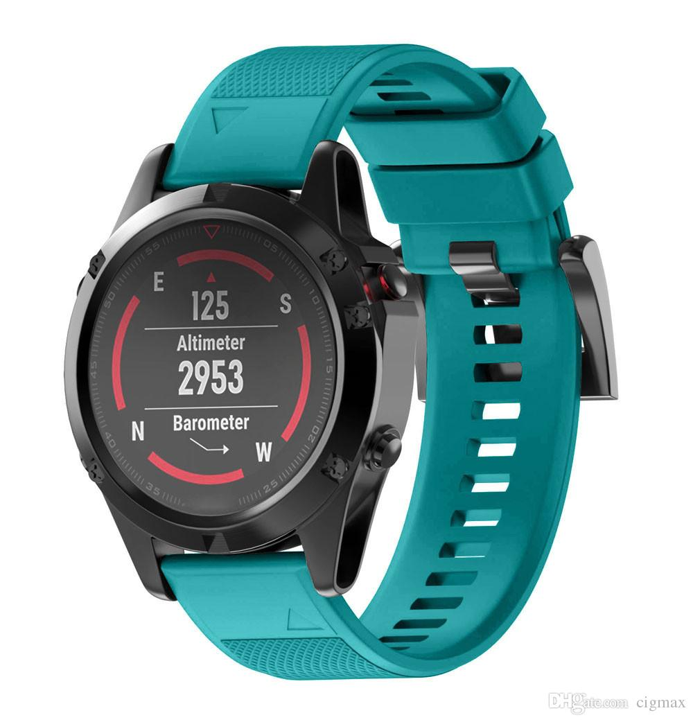 Replacement Silicagel Quick Install Band Strap For Garmin Fenix 5 GPS Watch