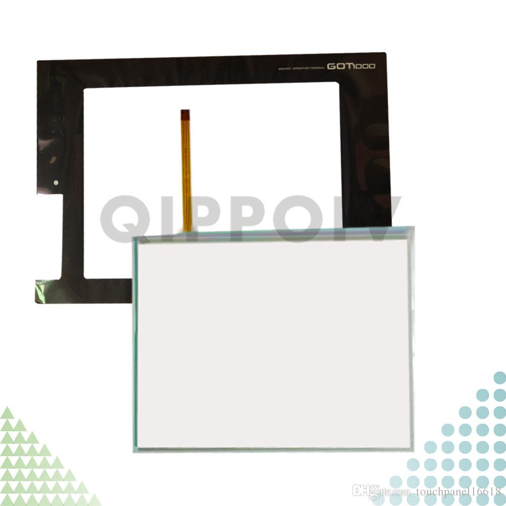 GT1665M-STBA GT1665M-STBD GT1665M Neuer HMI PLC-Touch Screen Panel Touchscreen und Frontlabel