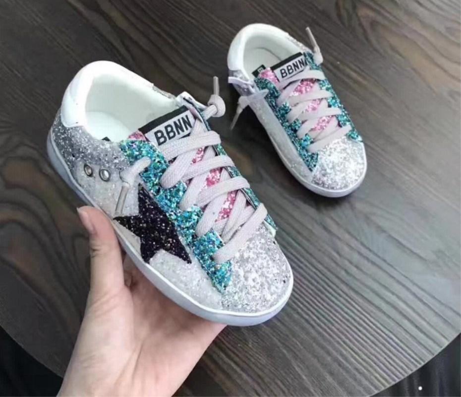 KIDS Toddler Baby Glittler Shoe Girl
